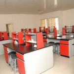 Fully Equipped Science Laboratory